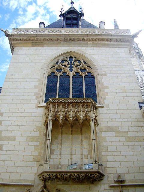 Bourges (18) La chapelle du Palais Jacques Coeur
