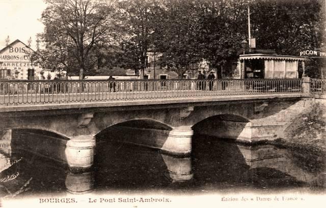Bourges (18) Le Pont Saint-Ambroix CPA