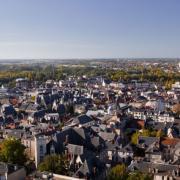 Bourges (18) Vue aérienne