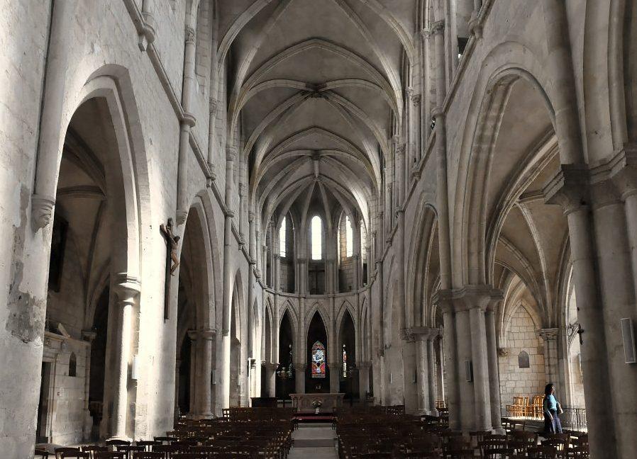 Bourges (Cher) L'église Saint-Pierre-le-Guillard