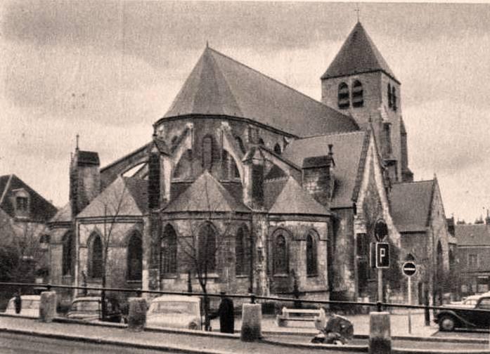 Bourges (Cher) Eglise Saint-Pierre-le-Guillard CPA