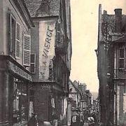 Bourges (Cher) La rue Coursalon CPA
