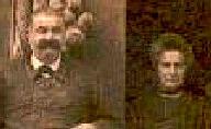 Fulcran Sylvestre Bourrié et sa seconde épouse, en 1920