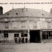 Brézolles (28) L'Hôtel de l'Ecu de France CPA
