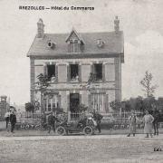Brézolles (28) L'Hôtel du Commerce CPA