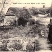 Brézolles (28) Le vieux moulin CPA