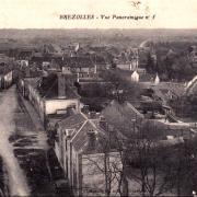 Brézolles (28) Vue générale CPA
