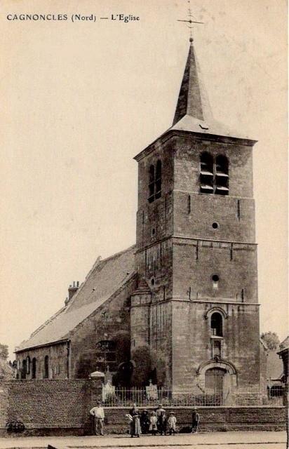 Cagnoncles 59 l eglise saint gery cpa
