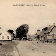 Cagnoncles 59 la rue du marais cpa