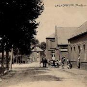 Cagnoncles 59 le pont vers 1910 cpa