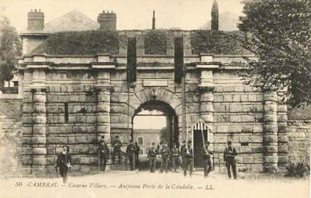 Cambrai 59 l ancienne porte de la citadelle cpa