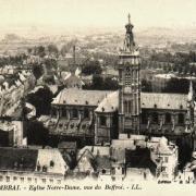Cambrai 59 la cathédrale notre dame cpa