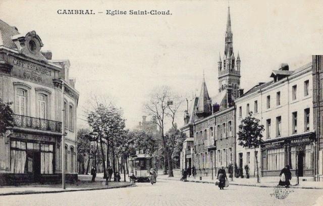 Cambrai 59 l eglise saint cloud cpa