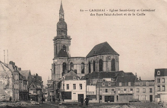 Cambrai 59 l eglise saint gery cpa