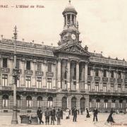 Cambrai 59 l hotel de ville cpa