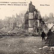 Cambrai 59 la grande place 1914 1918 cpa