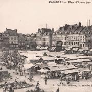 Cambrai 59 la place d armes cpa
