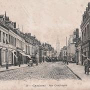 Cambrai 59 la rue cartimpre cpa