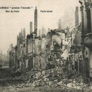 Cambrai 59 la rue de paris 1914 1918 cpa