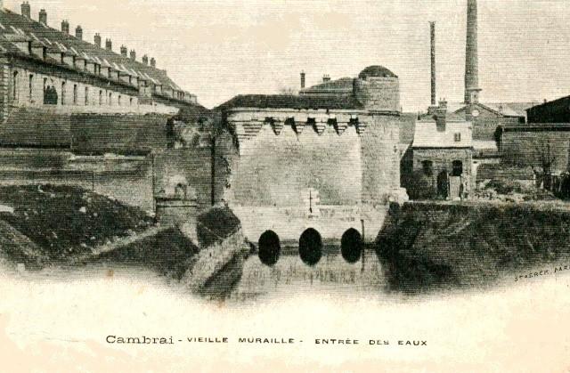 Cambrai 59 la vieille muraille cpa