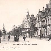 Cambrai 59 le boulevard faidherbe cpa