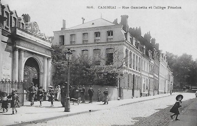 Cambrai 59 le college fenelon cpa