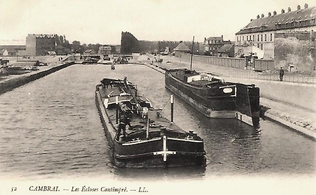 Cambrai 59 les ecluses cartimpre cpa