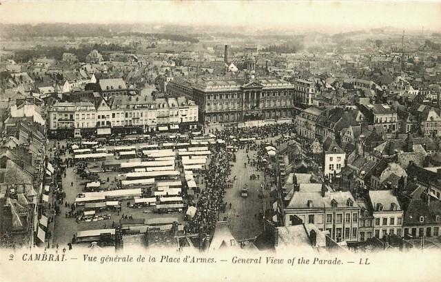 Cambrai 59 vue generale cpa