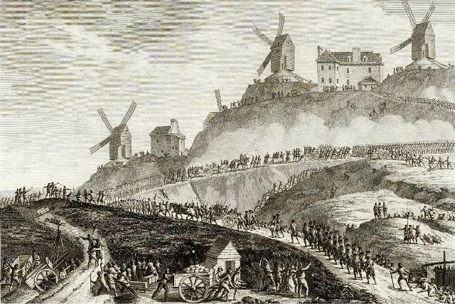Canons de montmartre du siege de paris