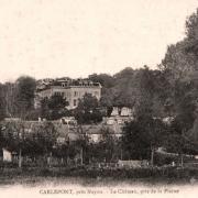 Carlepont 60 le chateau avant 1914 cpa