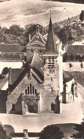 Carlepont oise cpa l eglise saint eloi reconstruite