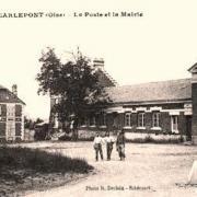 Carlepont oise cpa la mairie ecoles et la poste