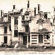 Carlepont oise cpa une propriete apres 1918