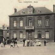 Carnieres 59 la mairie cpa