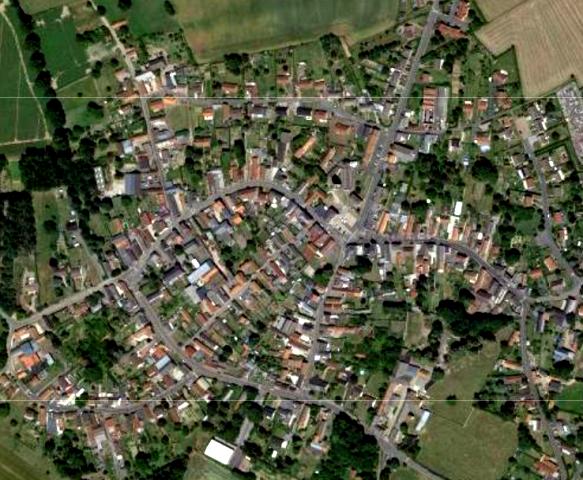Carnieres 59 vue satellite