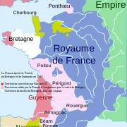 Le royaume des Capétiens, Guerre de Cent Ans en 1365
