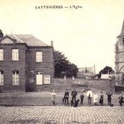 Cattenieres 59 l eglise saint martin cpa