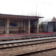 Cattenieres 59 la gare
