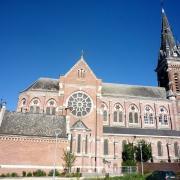 Caudry 59 la basilique sainte maxellende