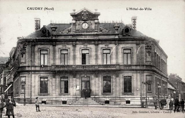 Caudry 59 la mairie cpa