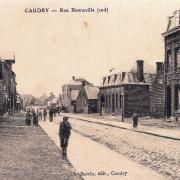 Caudry 59 la rue bonneville cpa