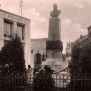 Caudry 59 la statue d eugene fievet cpa