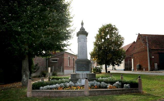 Cauroir 59 le monument aux morts