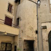 Ceilhes-et-Rocozels (Hérault) L'accès au clocher