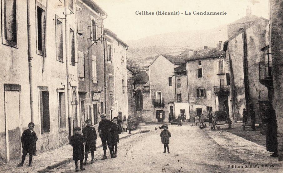 Ceilhes-et-Rocozels (Hérault) La gendarmerie CPA