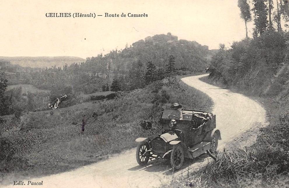 Ceilhes-et-Rocozels (Hérault) La route de Camarès