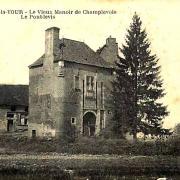 Cercy-la-Tour (Nièvre) Champlevois, la maison forte CPA