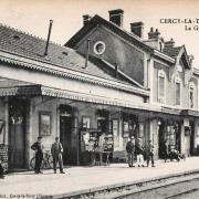Cercy-la-Tour (Nièvre) La gare CPA