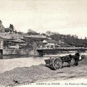 Cercy-la-Tour (Nièvre) Le pont et l'écluse CPA
