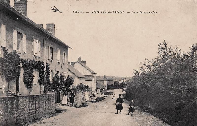 Cercy-la-Tour (Nièvre) Les Brunettes CPA